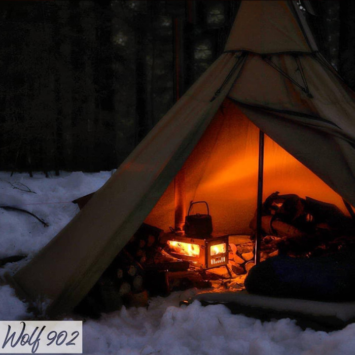 T1 mini 3 | Fastfold Titanium Tent Stove for Solo Hot Tent Camping | POMOLY