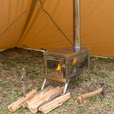 TIMBER 3 | Titanium Tent Stove for Hot Tent Camping | POMOLY