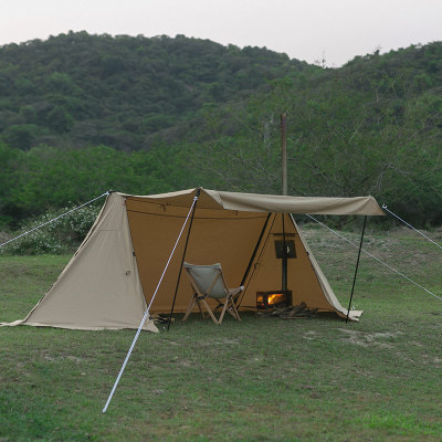 FORT Canvas Hot Tent | Shelter Tent with Stove Jack