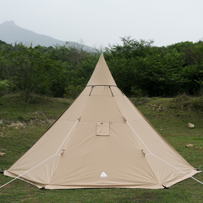 YARN Plus Canvas Hot Tent with Wood Stove Jack 2-3 Person