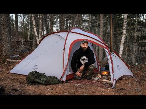 Timber Wolf 3 | Portable Titanium Stove | Solo Buchcraft and Hot Tent Camping |  Lonewolf 902 Signature