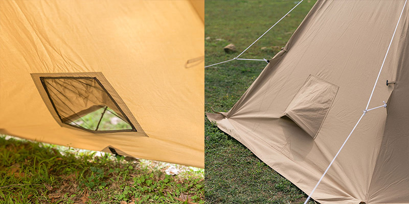 pomoly canvas tent