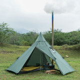 POMOLY HUSSAR Lightweight Tent with Wood Stove Jack