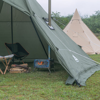 hot tent stove