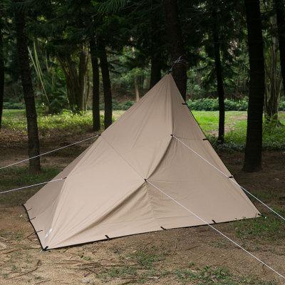 Rhombus Shelter | Canvas Wolf Den Tarp 1.0 for Solo Bushcraft | Lonewolf902 Signature