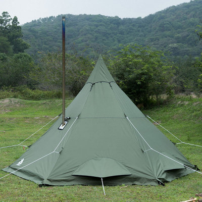 MANTA Hot Tent with Wood Stove Jack for Camping 2-4 Person 2021