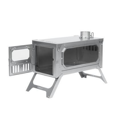 tent wood stove