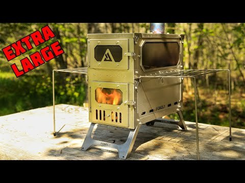 T-BRICK MAX | Portable Titanium Stove for Multiplayer Hot Tent Camping | POMOLY 2021 New Series
