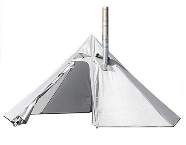 preself 3 Person Lightweight Tipi Hot Tent