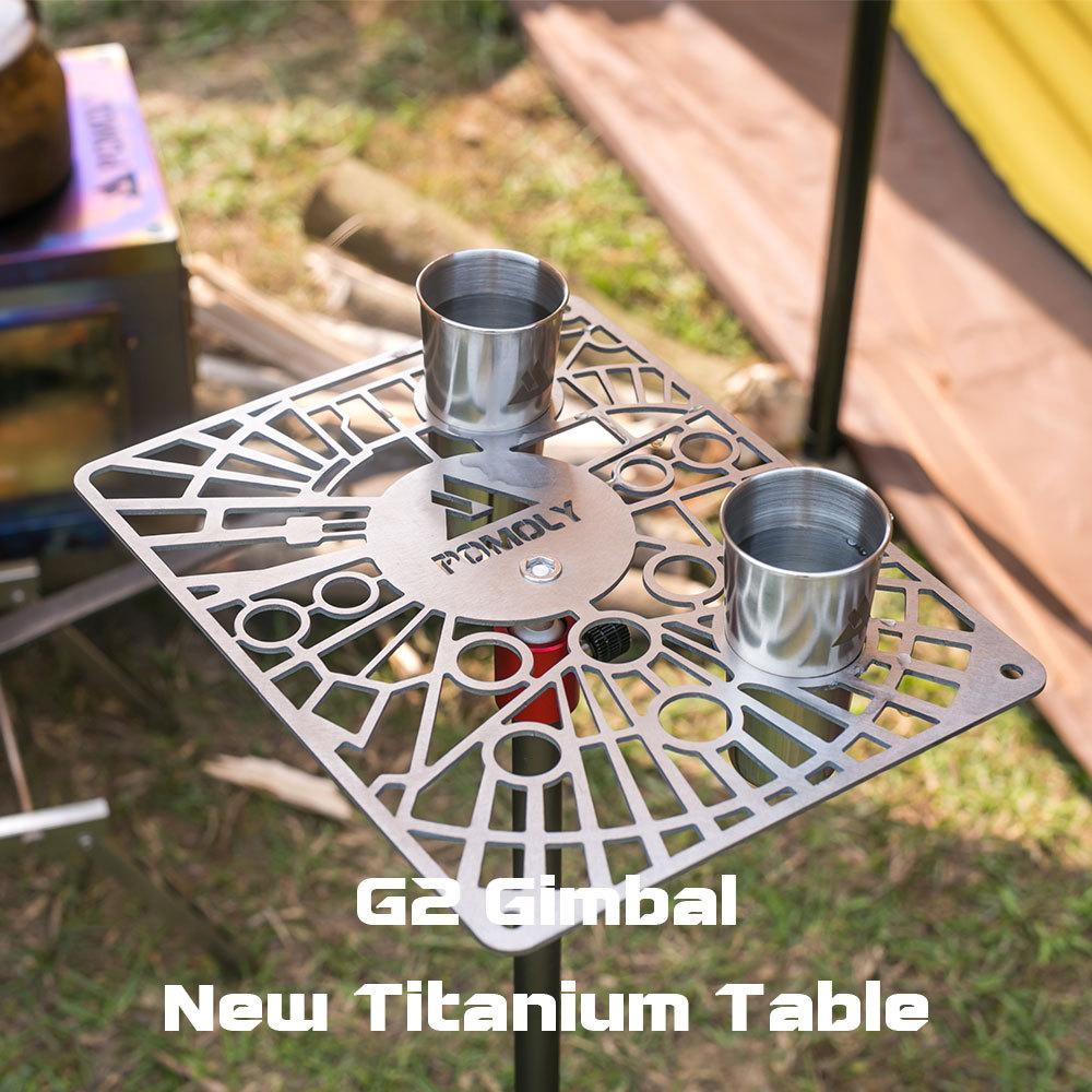 G2 Gimbal Titanium Table