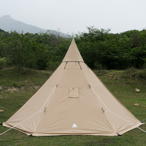 POMOLY LANTY Camping Hot Tent For Hiking Bushcraft With Top Cap And Tent Skirt 2-4 Person