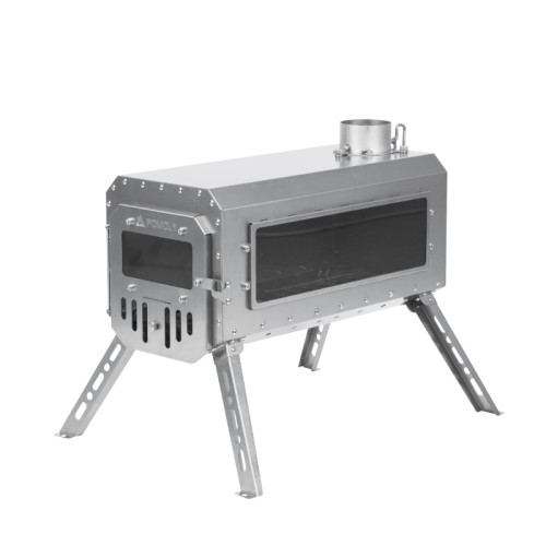 Traveller Wood Stove | Ultralight Titanium Tent Stove 3.3lbs | 2021 New Series | In Stock