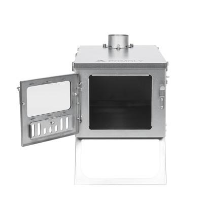 titanium wood stove
