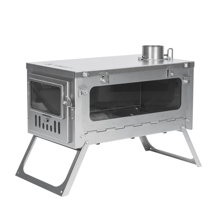 titanium stove