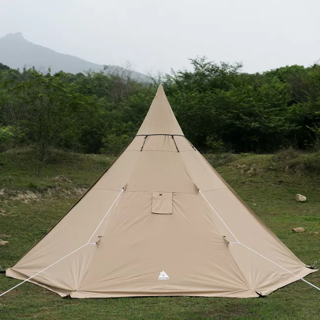 YARN Plus Canvas Hot Tent with Wood Stove Jack