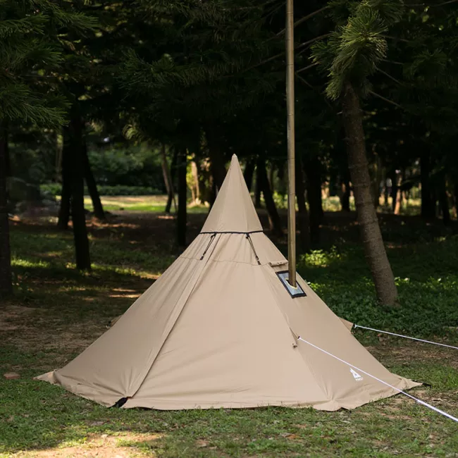 YARN Solo Canvas Hot Tent with Wood Stove Jack