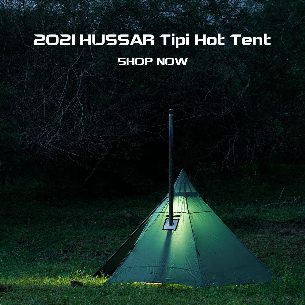 HUSSAR Lightweight Hot Tent