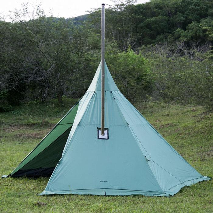 teepee hot tent