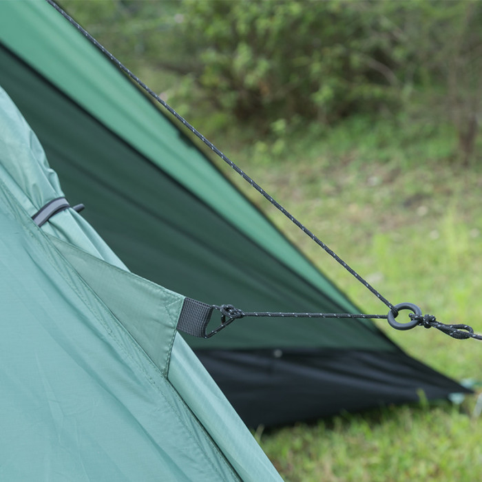 HUSSAR Plus Camping Hot Tent Lightweight Large Design Up To 4 Person