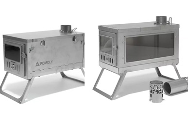 Pomoly's tent stoves