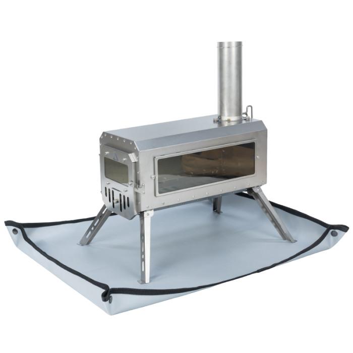 POMOLY Stove Ember Mat | Fire Pit Mat | Tent Footprint Protector | 28.7''  x 22.8''  (73 x 58 cm)