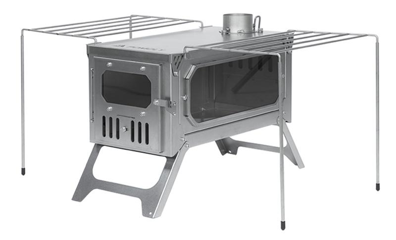 titanium tent stove