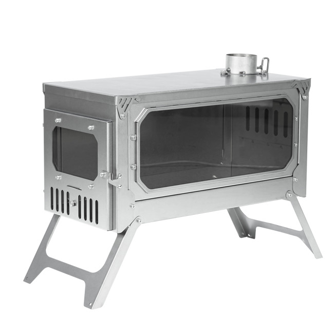 T-BRICK Ultra | Portable Titanium Wood Stove | Camping Tent Stove for 3-6P | POMOLY 2021 New Series | In Stock