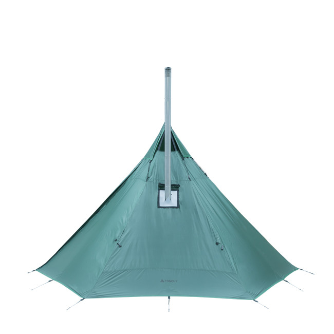 HUSSAR Lightweight Tent with Wood Stove Jack 1P | POMOLY 2021 | In Stock