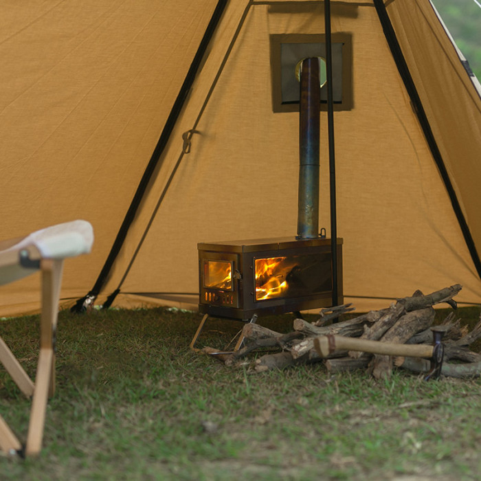 FORT Canvas Hot Tent   Shelter Tent with Stove Jack
