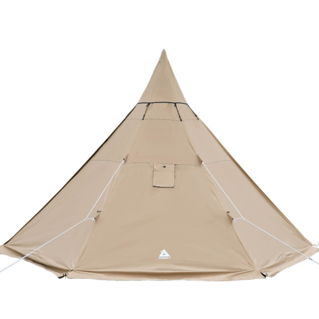 YARN Plus Canvas Hot Tent with Wood Stove Jack 2-4 Person