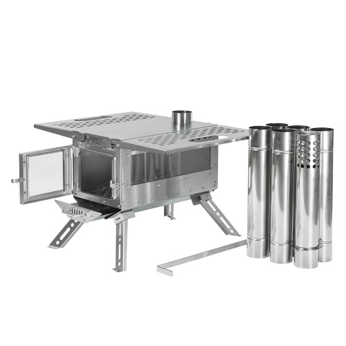 Oroqen Tent Wood Stove | Stainless Steel Stove for Hot Tent Camping | POMOLY 2021 New Arrival