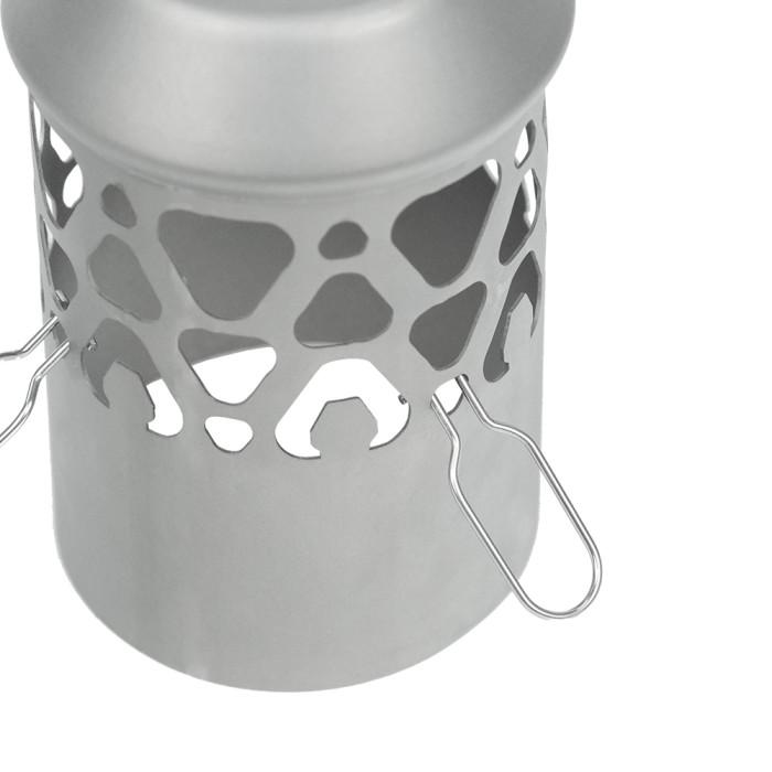 Titanium Spark Arrestor for Tent Wood Stove