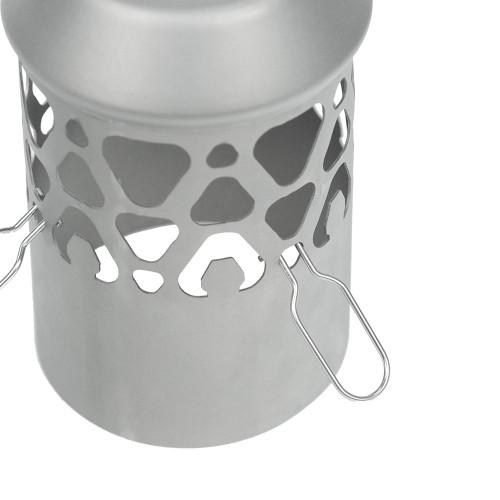 POMOLY Titanium Spark Arrestor for Tent Wood Stove