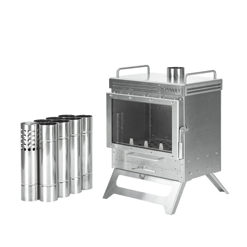 Dweller Wood Stove | Outdoor Fireplace for Hot Tent Camping | POMOLY 2021 New Arrival | Coming Soon