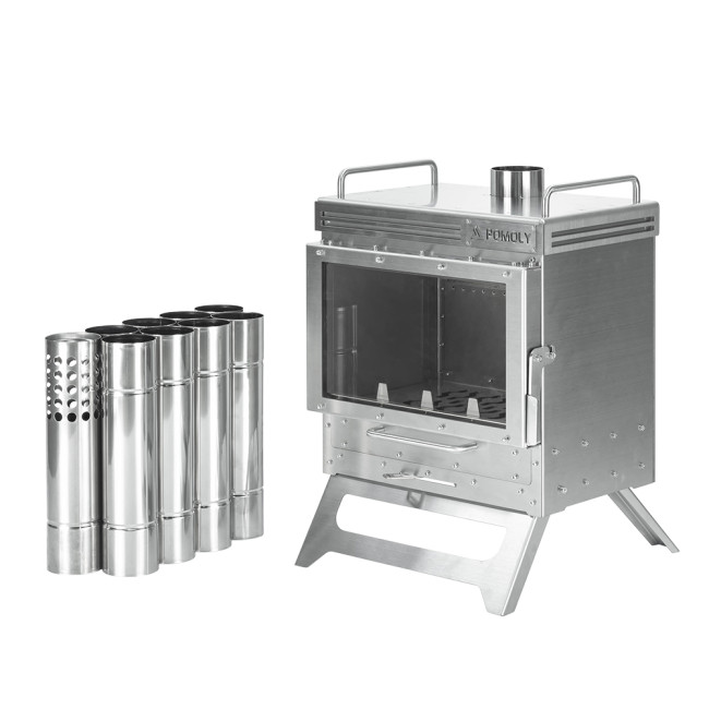 Dweller Wood Stove | Outdoor Fireplace for Hot Tent Camping | POMOLY 2021 New Arrival