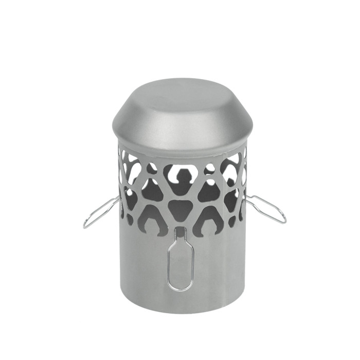 TIMBER Wolf Ultralight Tent Stove Titanium for Solo Camping   Lonewolf 902 Signature   2021 Version