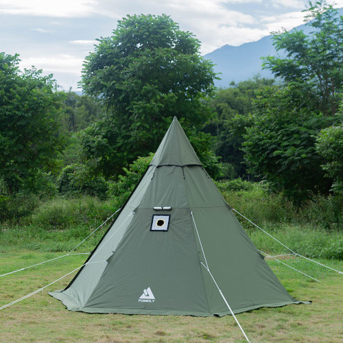 POMOLY HEX Hot Tent with Wood Stove Jack 2 Person | 2021 Version
