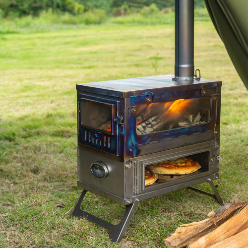 T1 TAISOCA Titanium Oven Stove | Tent Wood Stove with Oven | New Arrival 2021 | Pre-Order!