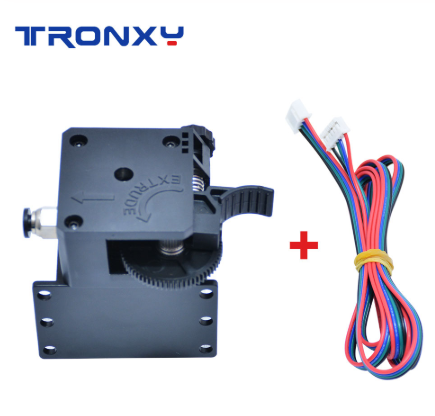 Tronxy Titan Extruder 3D Printer Parts For MK8 E3D V6 Hotend J-head Bowden Mounting Bracket 1.75mm Filament with motor and cable