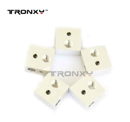 Tronxy 3d printer parts Heated Block use for 3D Printer Extruder(5 pieces)