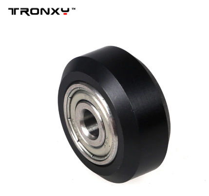 D-type pulley plastic wheel with bearings 5pcs/lot