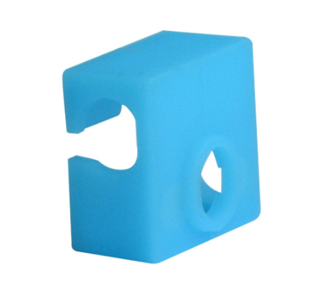 5pcs MK8 Protective Silicone Sock Cover Case 20*20*10mm Blue