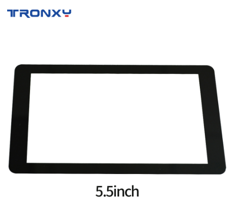 Tronxy Tempered Glass Protectors Compatible For 5.5 inch LCD 2K Screen For Light-Curing 3d Printer Free shipping Protects screen