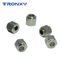 TRONXY 3D Printer Parts Eccentric Nut 5mm inner diameter V slot six angle Openbuilds Bore Eccentric Spacers Adjustable Nut