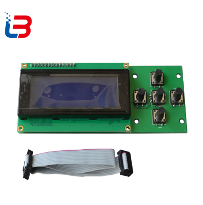 LCD display screen 5 keys rotary knob 2004LCD  with 1pc LCD cable