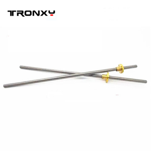 tronxy 3D printer Z-axis screw rod with copper nuts 3d PRINTER DIY kit 4 orders