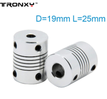 Tronxy 3D Printer Parts Flexible Shaft Coupler use for 3d printer Z axis Coupling(5 pieces)