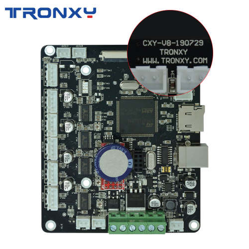 Tronxy Upgrade Silent Mainboard for XY-2 XY-3 D01 3D Printer Control Main Board 3D Printer Parts impresora 3d Motherboard