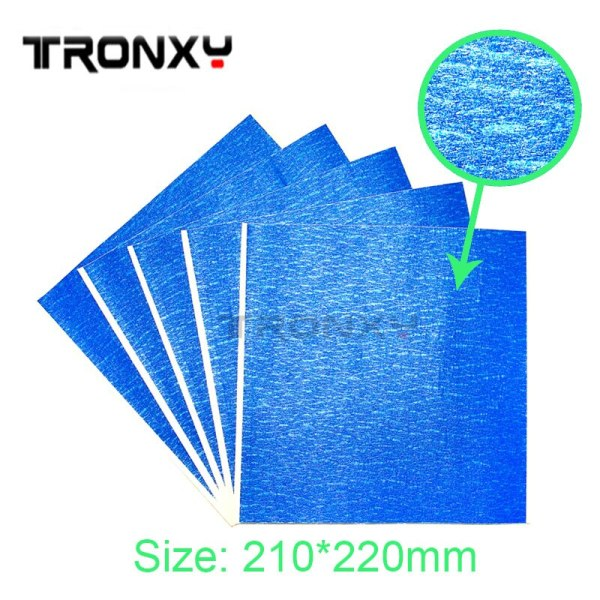 Blue Tape 200*210mm Hot Bed Heat Paper masking high temperature