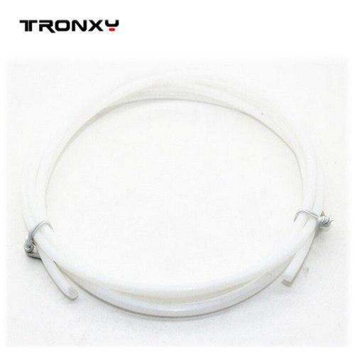 2M Diameter 4*2mm PTFE Teflon Tube For Extruder Pipe J-head